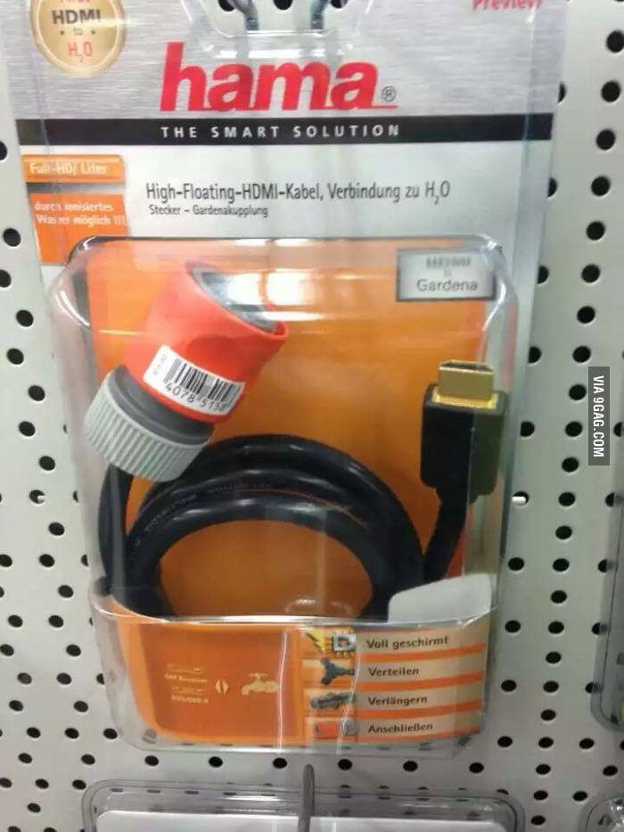 HDMI to H2O – Smart Solution to High Floating Cable