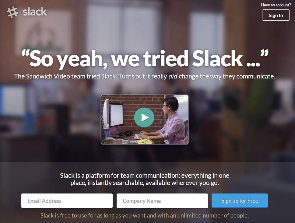 Whatsapp Alternative – Try Slack