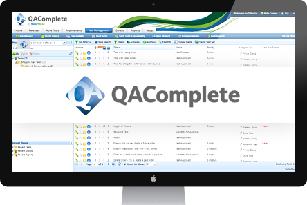 Basic Overview of QA Complete from Smartbear Software Planner