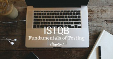 ISTQB Fundamentals of Testing - chapter 1