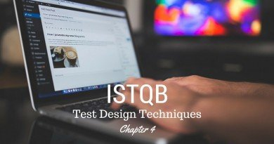 ISTQB Test Design Techniques - chapter 4
