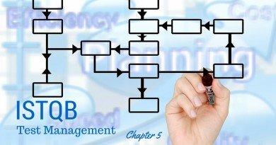 ISTQB Test Management - chapter 5