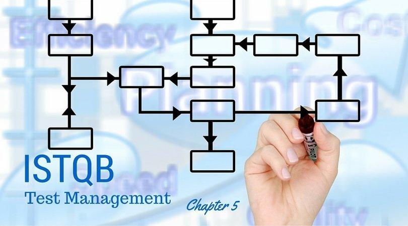Test Management – Chapter 5 – ISTQB Foundation