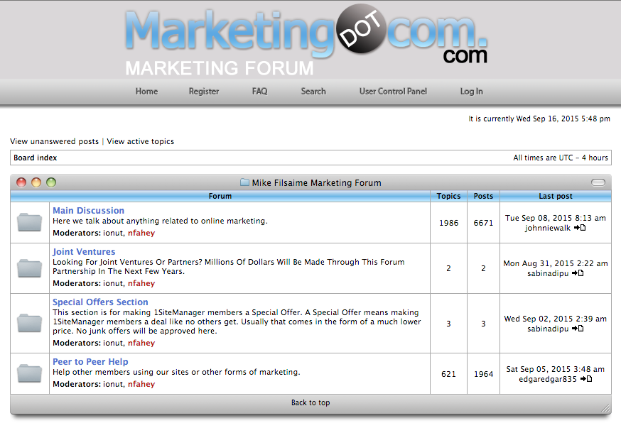 Online Business – Work at Home Internet Marketing Forums