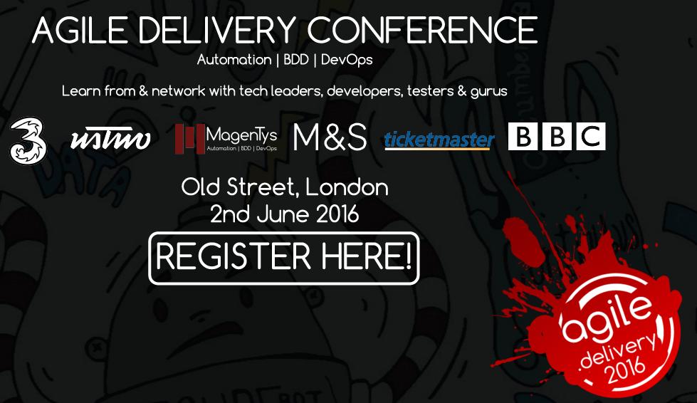agile.delivery 2016 MagenTys – Automation – BDD – DevOps