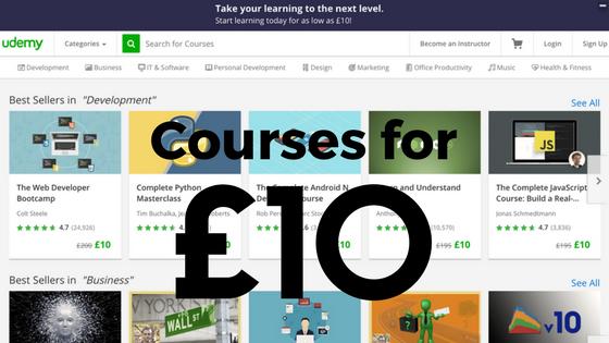 £10 Promo Courses – Take it For Lifetime Period