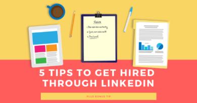 5 Tips to Get a Job Through LinkedIn