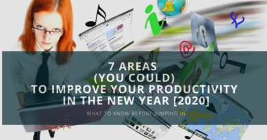 7 areas to improve your productivity in the new year 2020