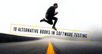 10 Alternative Books In Software Testing